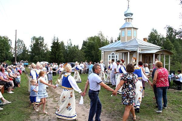Обычный День деревни.  (Сказ о «Спасе в Раменье»).