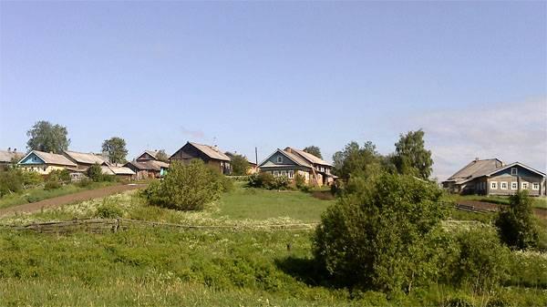 Пакшеньга Жизнь в деревне