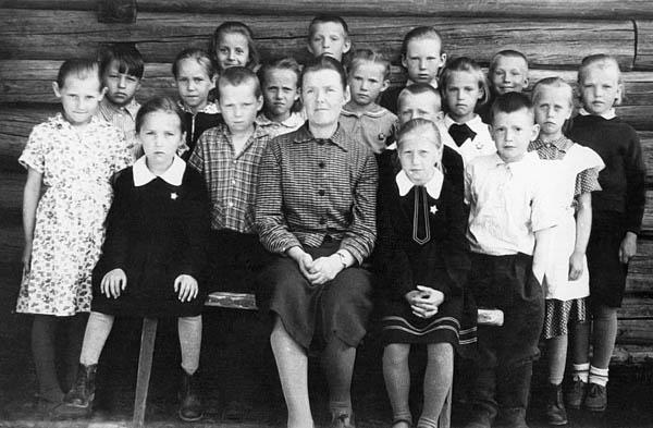 1 класс, весна 1964 г. Пакшеньга