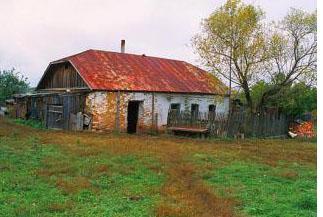 Дом Матроны в селе Себино