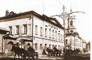 Дом в Москве где какое то время жила Матрона Московская